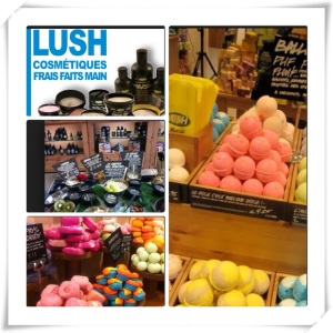 Lush, cosmétiques faits main