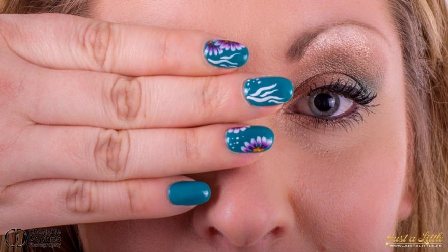 nail art one stroke