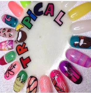 roue de nail art pour la cocooning party