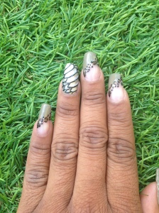 ongles nail art be wild fashion weelk toulouse